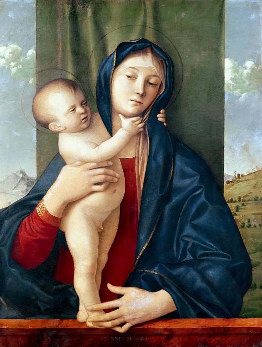 Мадонна с Младенцем (Мадонна Виллиса). Джованни Беллини
