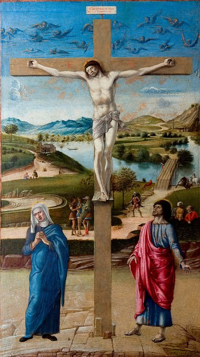 Crucifix. Giovanni Bellini