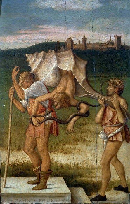 Four Allegories - Envy. Giovanni Bellini