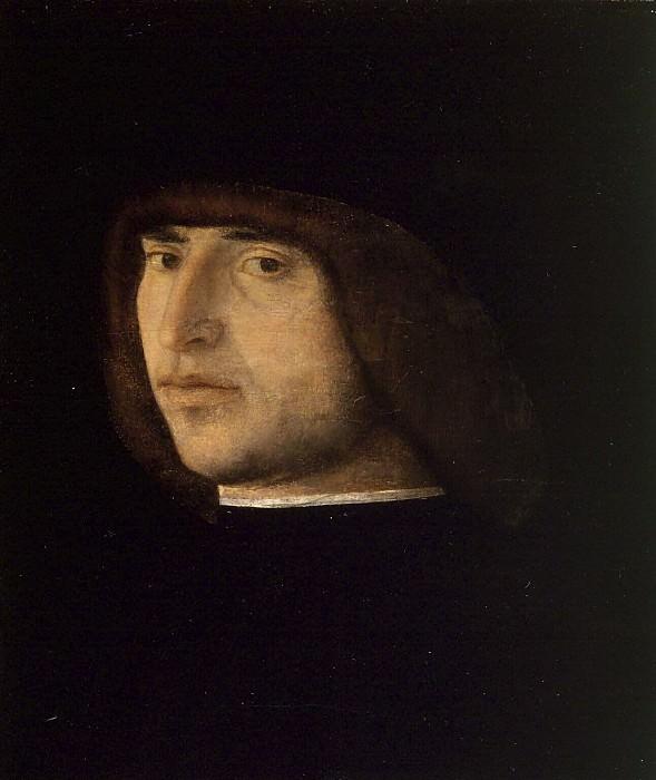 Portrait of a Young Man. Giovanni Bellini