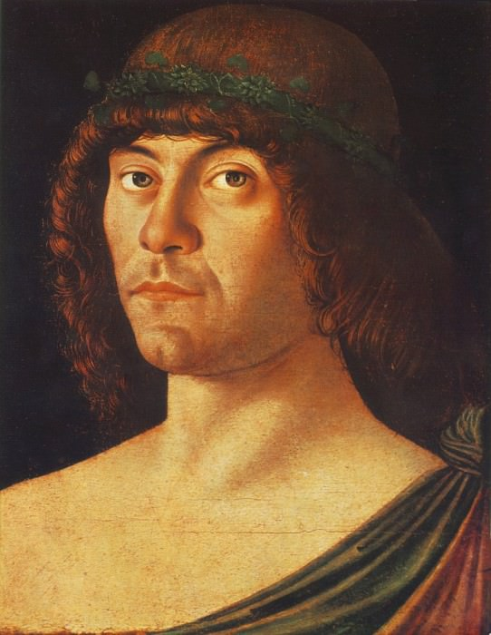 Portrait of a Humanist. Giovanni Bellini