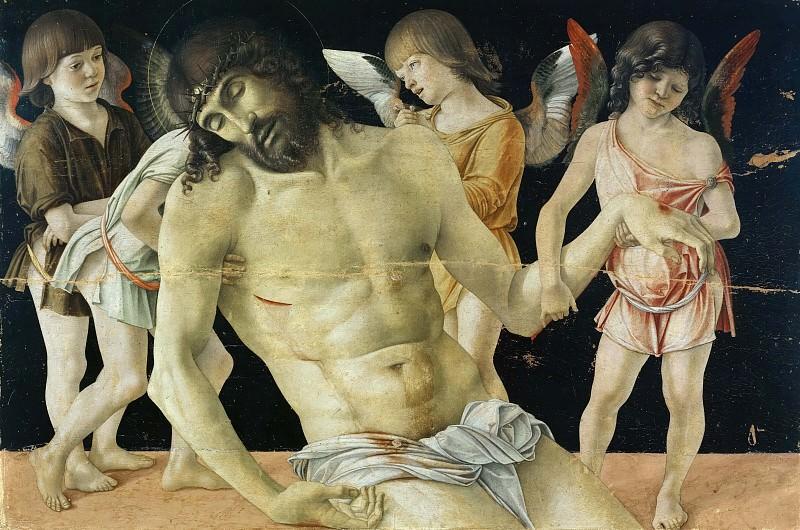 Мертвый Христос с ангелами. Джованни Беллини