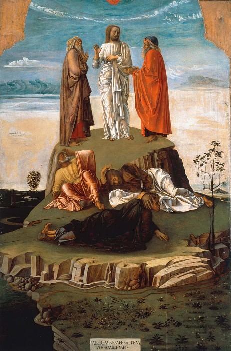 Преображение Христа. Джованни Беллини