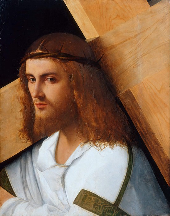Christ Carrying the Cross. Giovanni Bellini