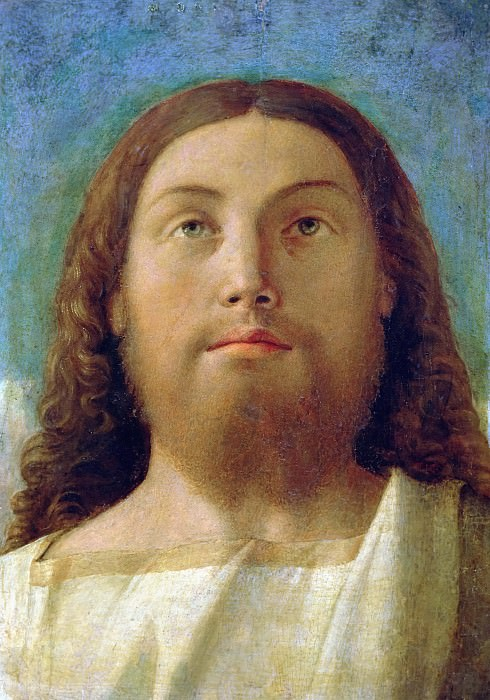 Head of the Redeemer. Giovanni Bellini