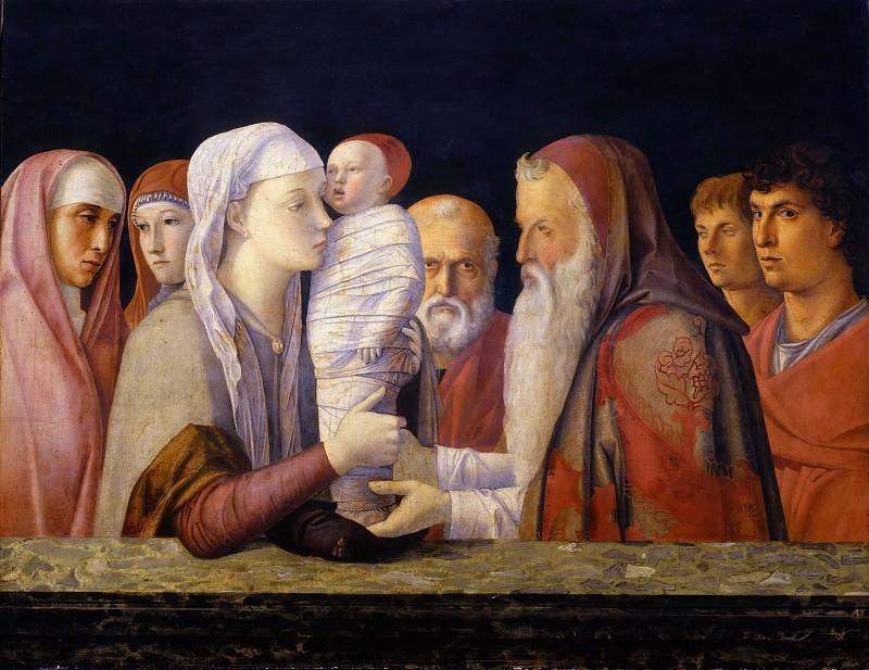Presentation in the Temple. Giovanni Bellini