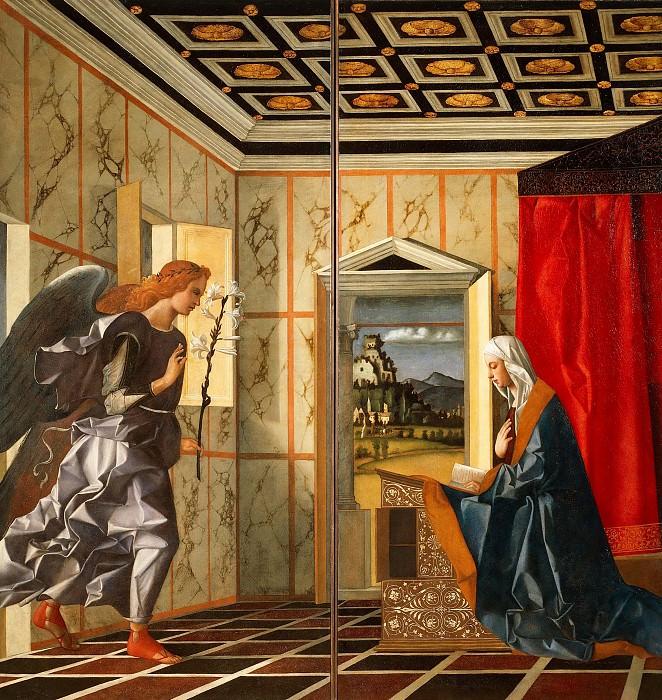 Annunciation. Giovanni Bellini
