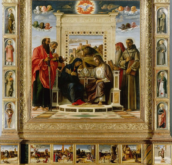 Pesaro Altarpiece. Giovanni Bellini