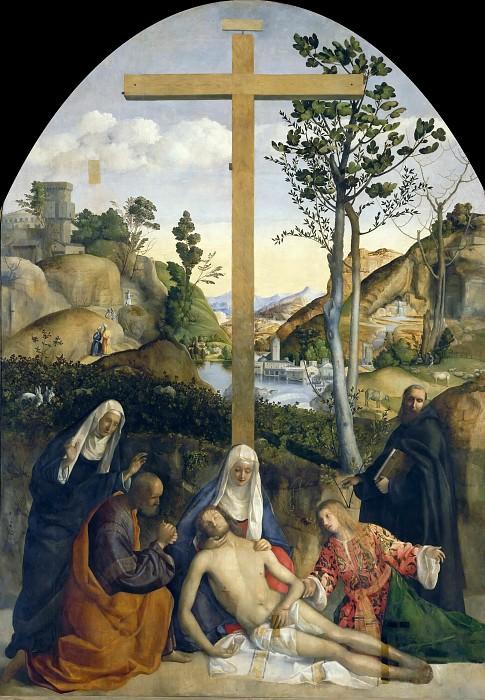 Lamentation. Giovanni Bellini