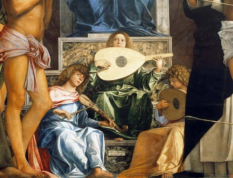 San giobbe altarpiece. Giovanni Bellini