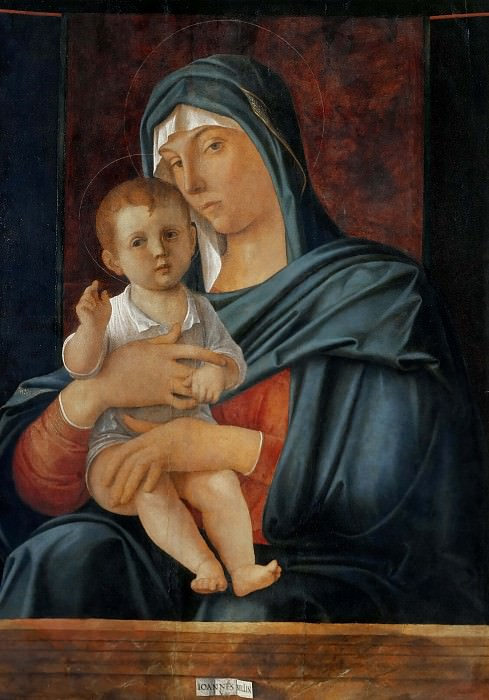 Virgin and Blessing Child. Giovanni Bellini