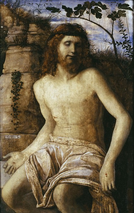 Christ crowned with Thorns. Giovanni Bellini