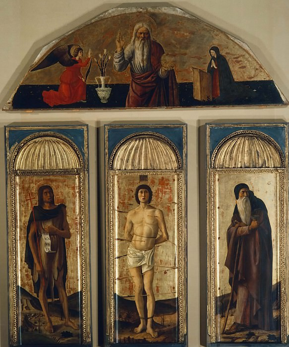Триптих святого Себастьяна. Джованни Беллини