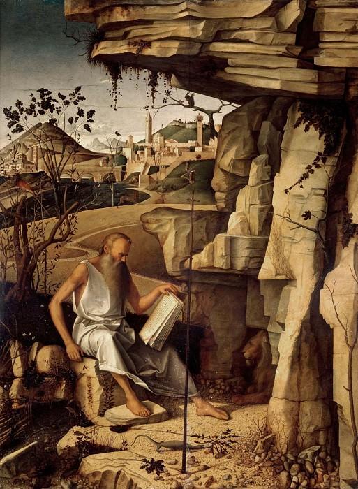 Святой Иероним в пустоши. Джованни Беллини