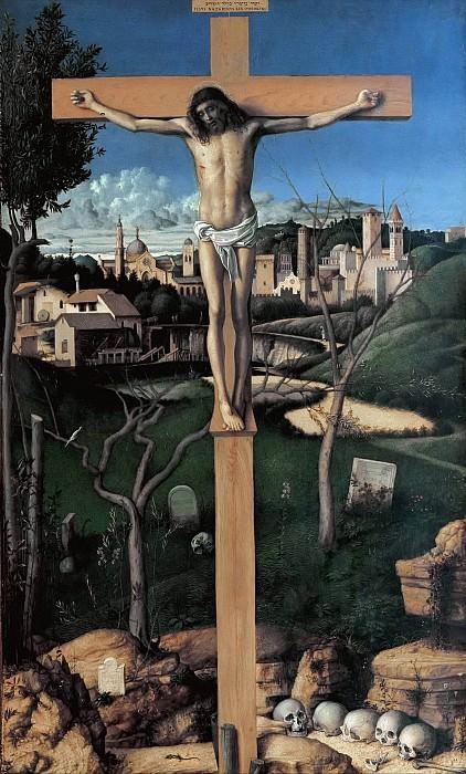 The crucifixion. Giovanni Bellini