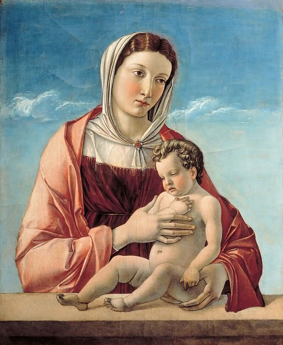 Madonna and Child (Madonna Frizzoni). Giovanni Bellini