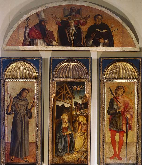 Триптих Рождества Христова. Джованни Беллини
