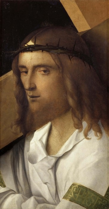 Christ Bearing the Cross. Giovanni Bellini