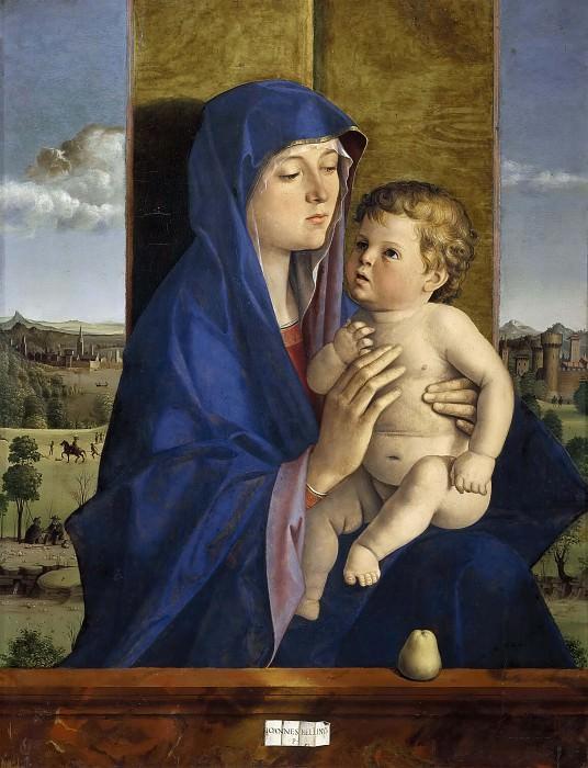 Madonna of the Pear. Giovanni Bellini