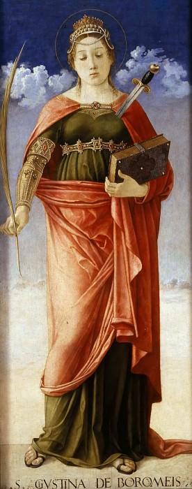 St. Giustina de Borromei. Giovanni Bellini