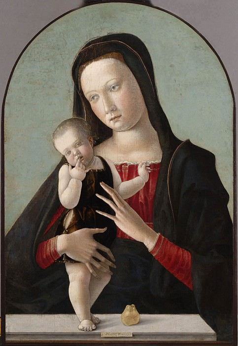 Virgin and Child. Giovanni Bellini