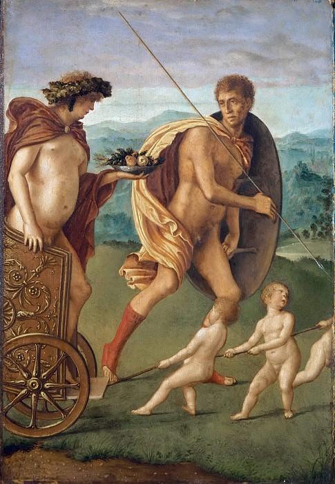 Four Allegories - Perseverance. Giovanni Bellini