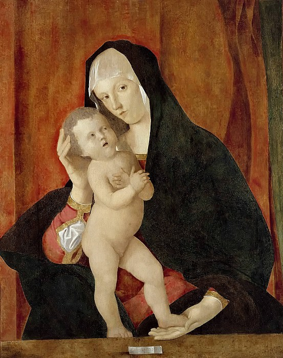 Madonna and Child. Giovanni Bellini