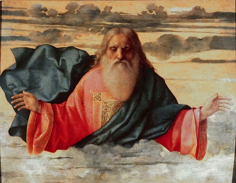 Eternal Father. Giovanni Bellini