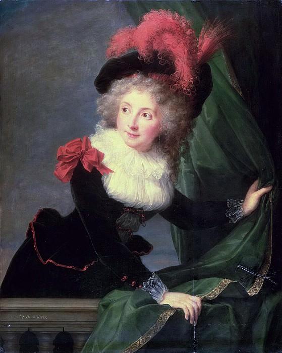 Madame Perregaux. Élisabeth Louise Vigée Le Brun