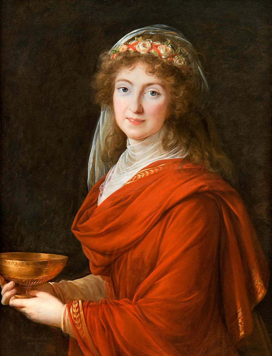 Portrait of the Countess Siemontkowsky Bystry. Élisabeth Louise Vigée Le Brun
