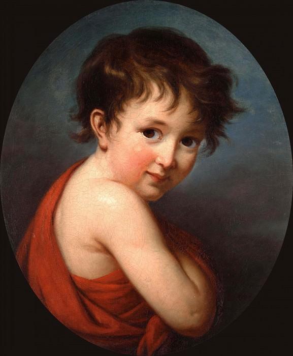 Portrait de Michel. Élisabeth Louise Vigée Le Brun