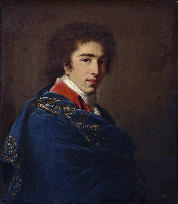 Portrait of Prince Ivan Baryatinsky. Élisabeth Louise Vigée Le Brun