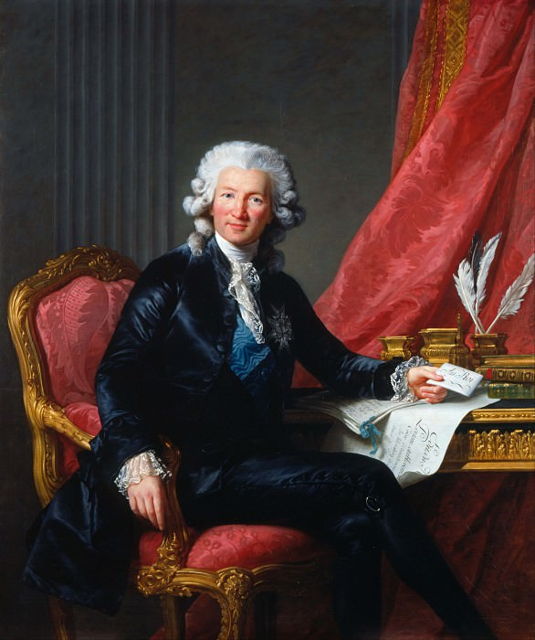 Charles-Alexandre de Calonne (1734-1802). Élisabeth Louise Vigée Le Brun