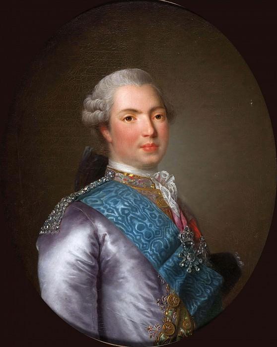 Louis-Stanislas-Xavier de France, comte de Provence (1755-1824). Élisabeth Louise Vigée Le Brun (attr.)