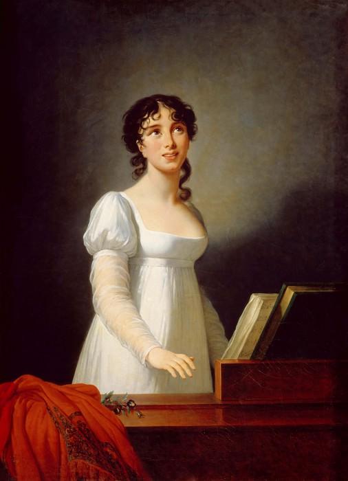 Singer Angelica Catalani. Élisabeth Louise Vigée Le Brun