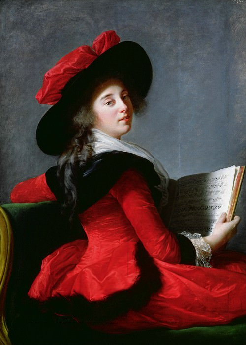 La Baronne de Crussol. Élisabeth Louise Vigée Le Brun
