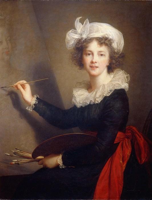 Self portrait. Élisabeth Louise Vigée Le Brun