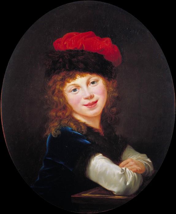 Portrait of a Girl. Élisabeth Louise Vigée Le Brun