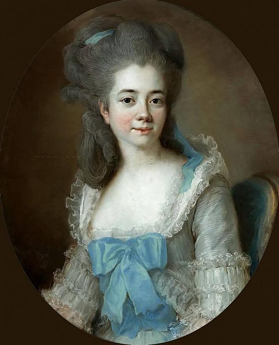 PORTRAIT OF MADAME AIGNAN DE SANLOT. Élisabeth Louise Vigée Le Brun