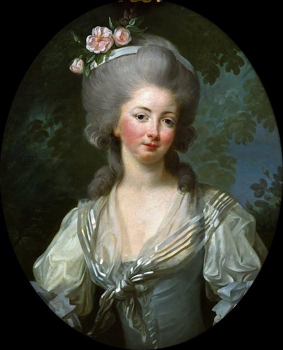 Эрнестина Фредерика, принцесса де Круа. Элизабет-Луиз Виже-Лебрён