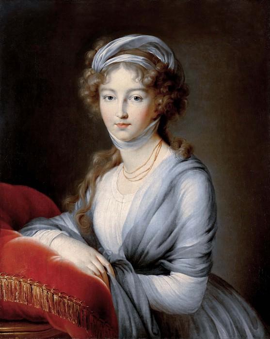 Великая княгиня Елизавета Алексеевна. Элизабет-Луиз Виже-Лебрён