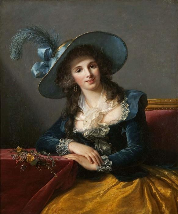 Antoinette-Elisabeth-Marie d'Aguesseau, comtesse de Segur. Élisabeth Louise Vigée Le Brun