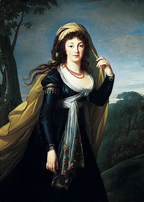 Portrait of Theresa, Countess Kinsky. Élisabeth Louise Vigée Le Brun