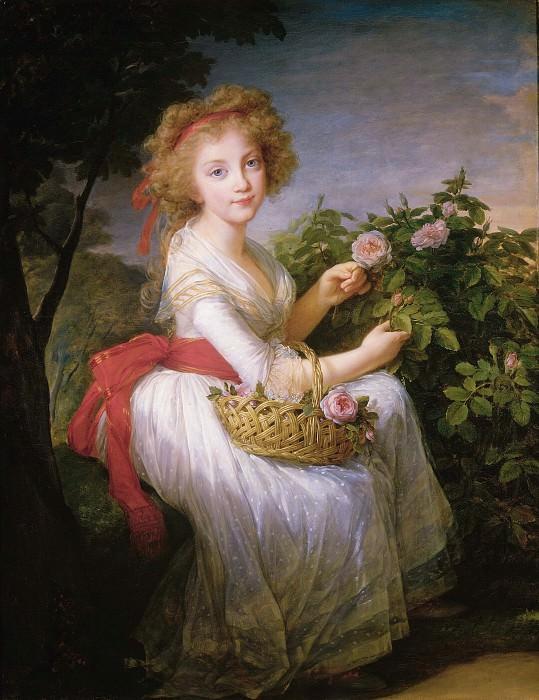 Мария Кристина Амелия де Бурбон, королева Сардинии. Элизабет-Луиз Виже-Лебрён