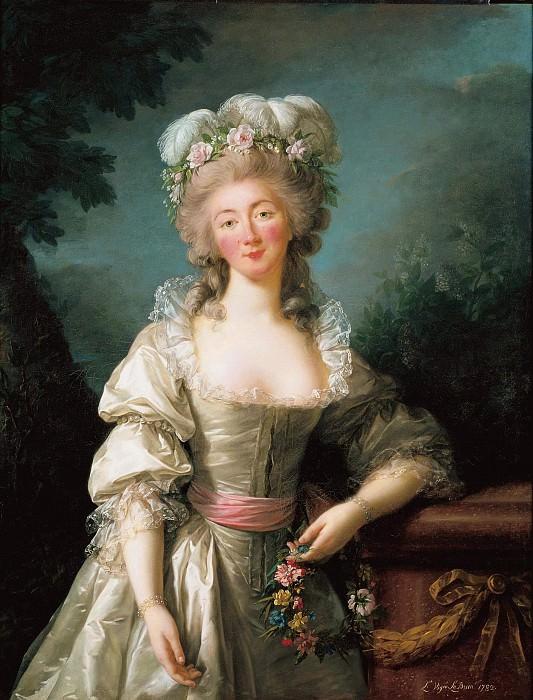 Портрет мадам Дюбарри. Элизабет-Луиз Виже-Лебрён
