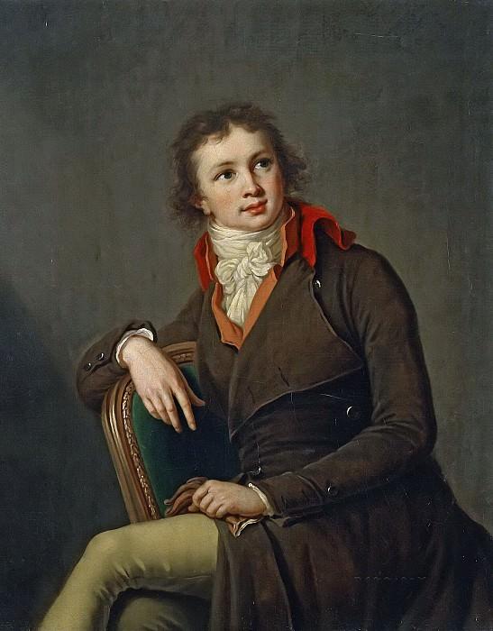 Portrait of Count Pavel Stroganov (attr.). Élisabeth Louise Vigée Le Brun