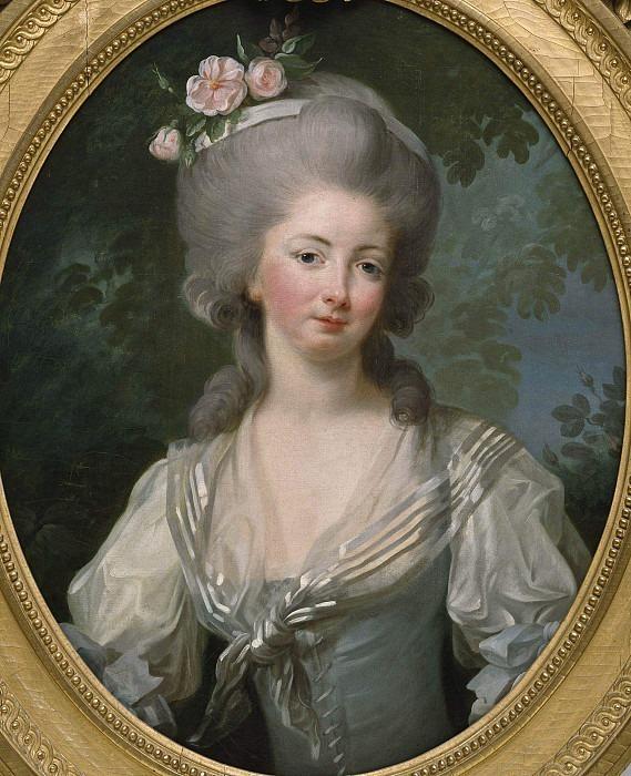 Ernestine-Frédérique, Princesse de Croy. Élisabeth Louise Vigée Le Brun
