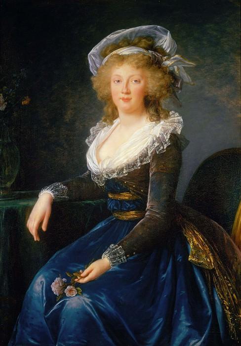 Maria Teresa Bourbon, Queen of Austria. Élisabeth Louise Vigée Le Brun