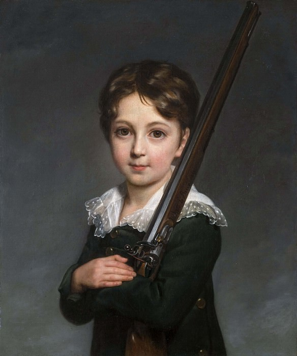 Portrait of a Young Boy. Élisabeth Louise Vigée Le Brun
