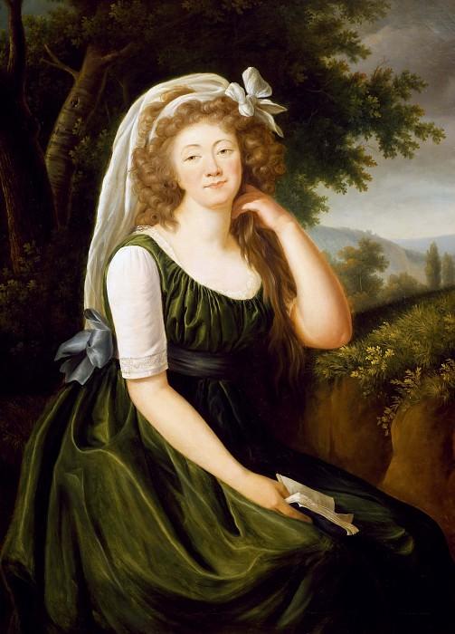 Portrait of Jeanne Becu, Countess of Barry. Élisabeth Louise Vigée Le Brun